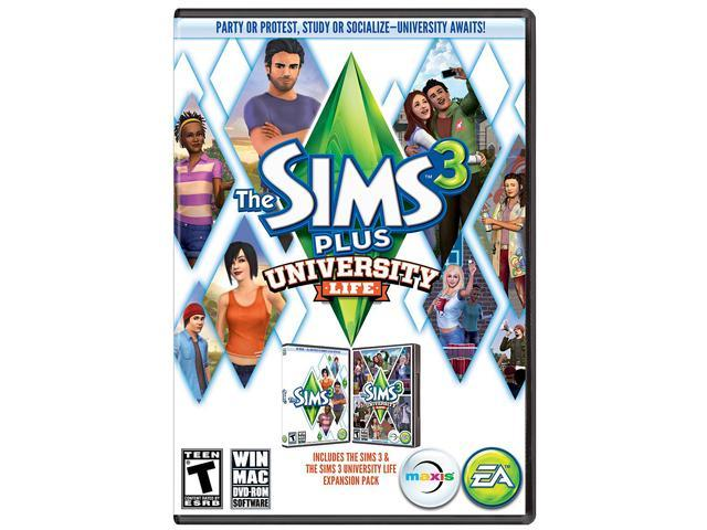 Sims 3 Plus University Life PC Game