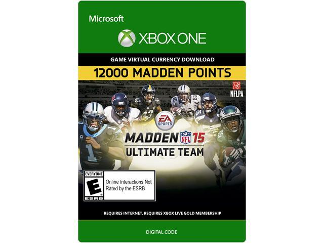 Madden NFL 15: 12,000 Points Xbox One [Digital Code]
