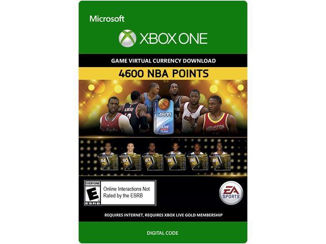 NBA Live 15: 4,600 NBA Points Xbox One [Digital Code]