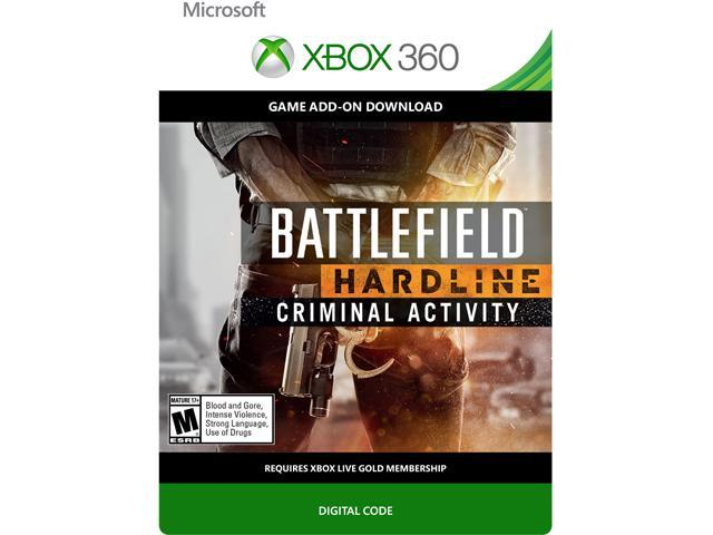 Battlefield Hardline Criminal Activity DLC XBOX 360 [Digital Code]