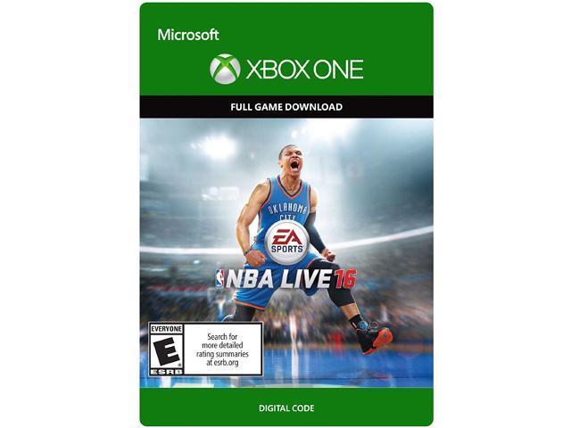 NBA Live 16 XBOX One [Digital Code]