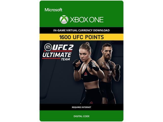 UFC 2: 1600 UFC Points XBOX One [Digital Code]