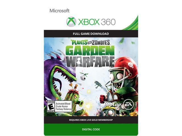 Plants vs Zombies Garden Warfare XBOX 360 [Digital Code]