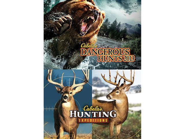 Cabela's Dangerous Hunts 2013 + Hunting Expeditions Bundle [Online Game Code]