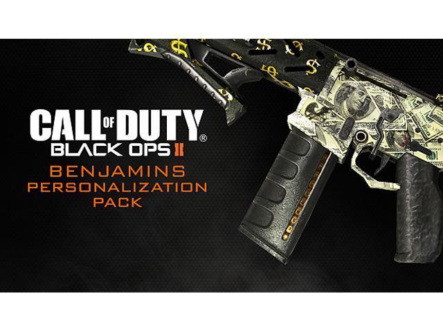 Call of Duty: Black Ops II Benjamins Personalization Pack [Online Game Code]