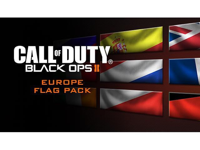 Call of Duty: Black Ops II Europe Flags of the World Calling Card Pack [Online Game Code]