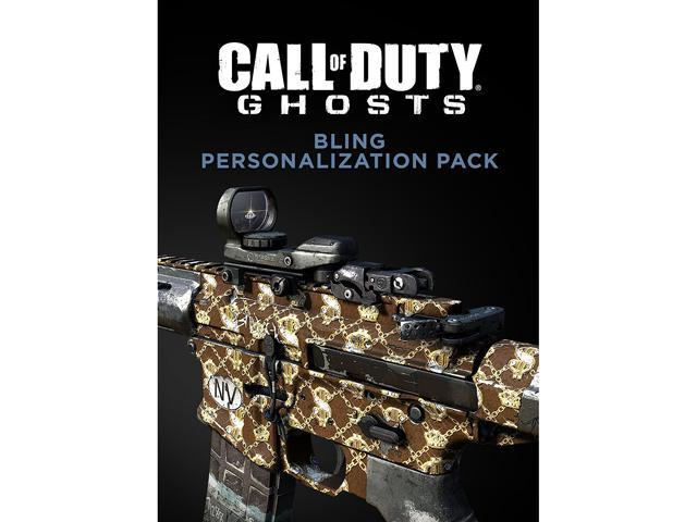 Call of Duty: Ghosts - Bling Personlization Pack [Online Game Code]