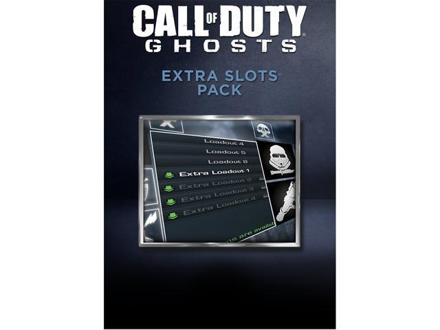 Call of Duty: Ghosts - Extra Slots Pack [Online Game Code]