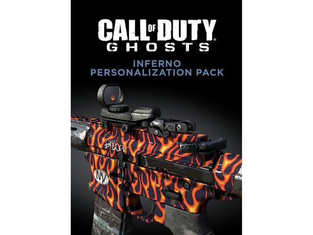 Call of Duty: Ghosts Inferno Personlization Pack [Online Game Code]