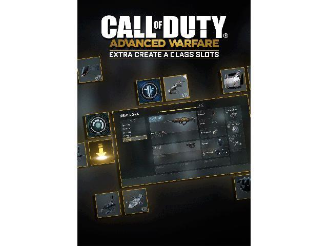 Call of Duty: Advanced Warfare - Extra Create A Class Slots [Online Game Code]