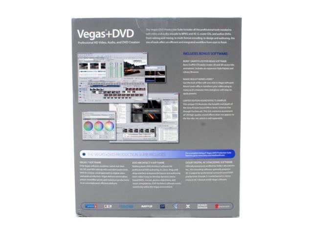 SONY Vegas7+DVD