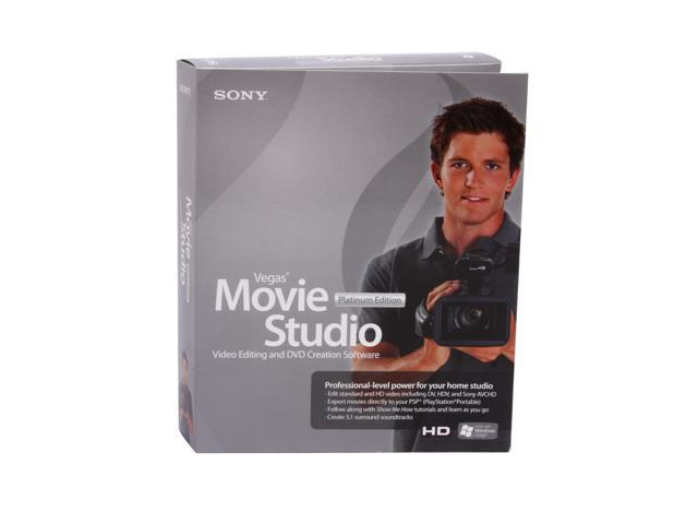SONY Vegas Movie Studio+DVD 8 Platinum Edition