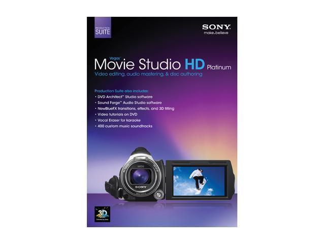 Sony movie studio platinum 12 suite greatly discounted price