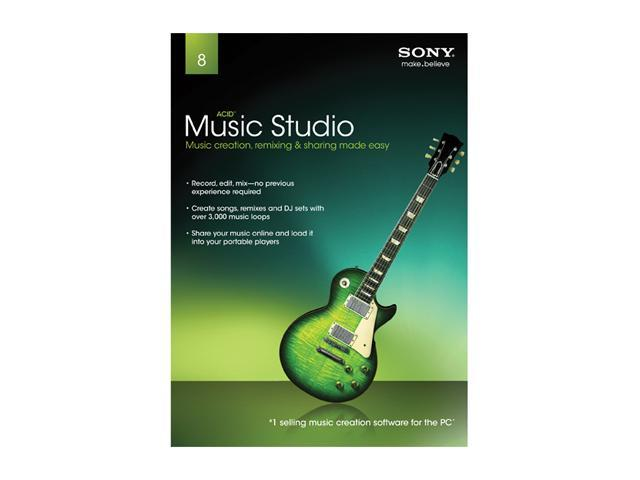 SONY Acid Music Studio 8.0 - System Builder