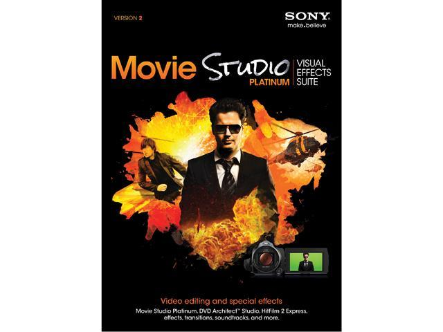 SONY Movie Studio Platinum Visual Effects Suite 2 - Digital Code