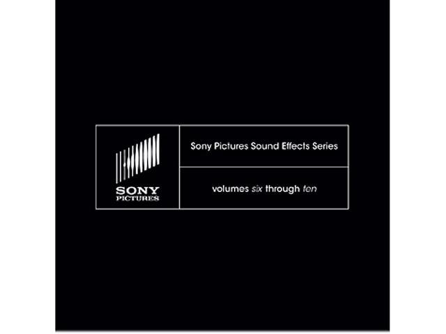 SONY Pictures Sound Effects Series Volumes 6-10 - Digital Code