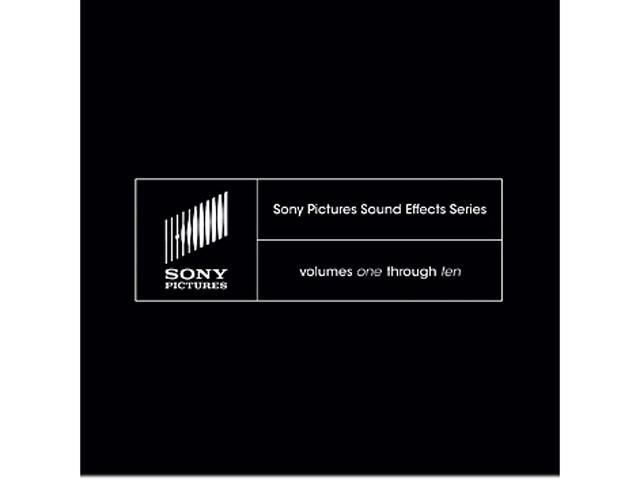 SONY Pictures Sound Effects Series Volumes 1-10 - Digital Code
