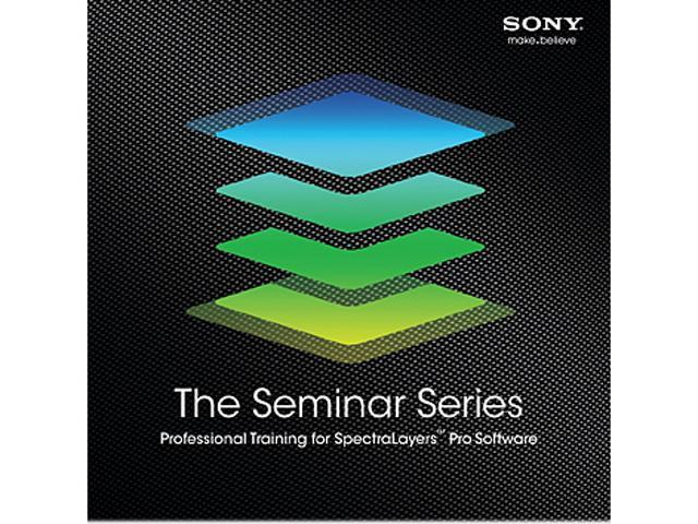 SONY The Seminar Series: SpectraLayers Pro - Digital Code