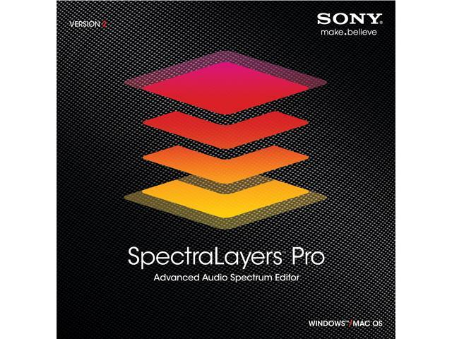 SONY SpectraLayers Pro 2