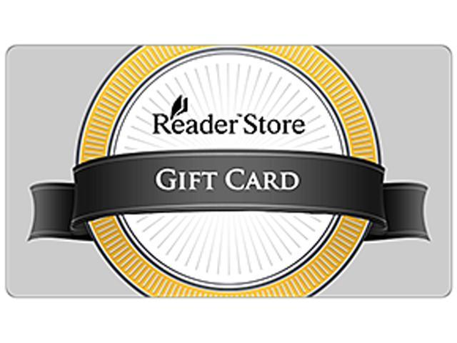SONY eBooks Reader Store $50 Gift Card - Email Delivery