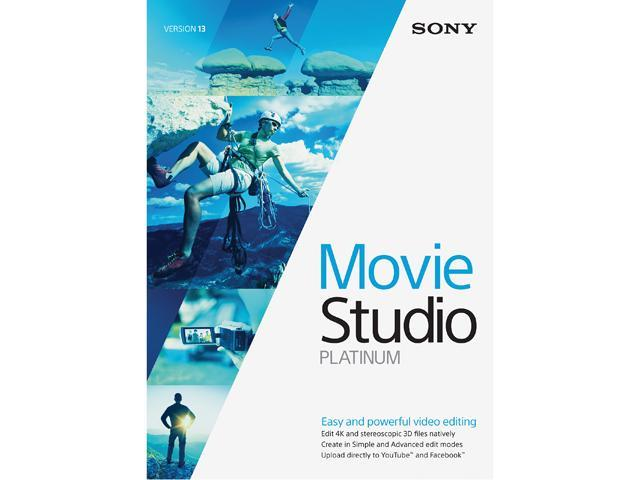 SONY Movie Studio 13 Platinum - Download