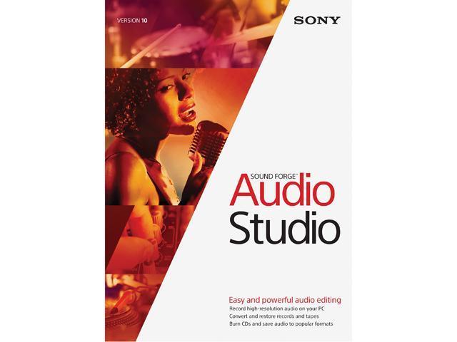 SONY Sound Forge Audio Studio 10 - Download