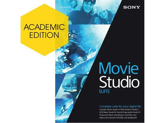 SONY Academic Movie Studio 13 Suite - Download