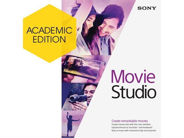 SONY Academic Movie Studio 13 - Download