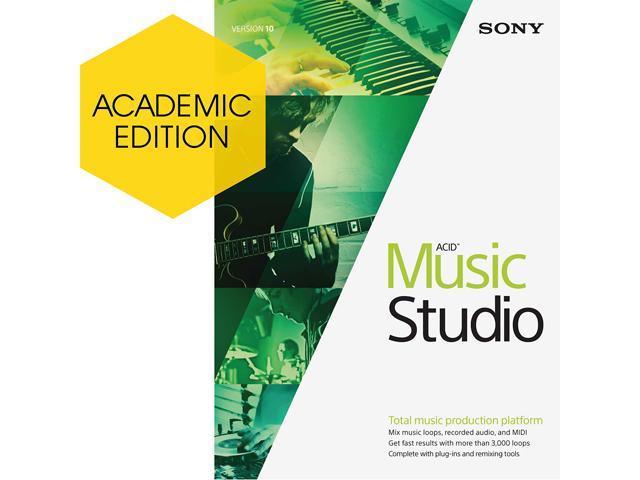 SONY Academic ACID Music Studio 10 - Download