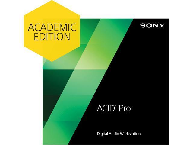 SONY Academic ACID Pro 7 - Download