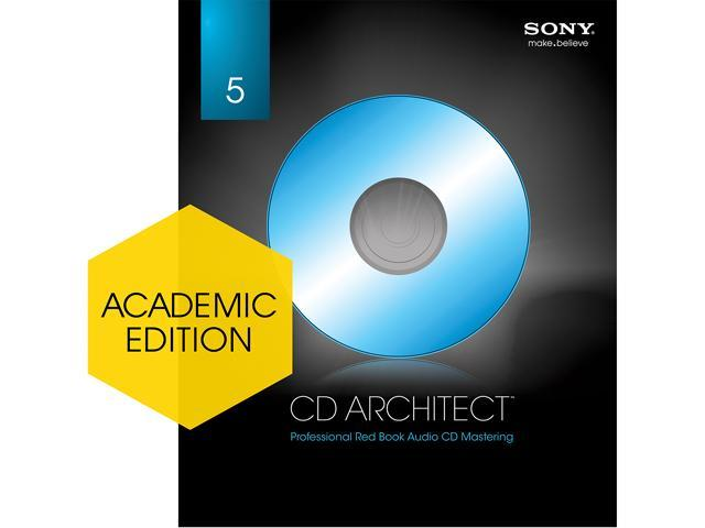 SONY Academic CD Architect - Download