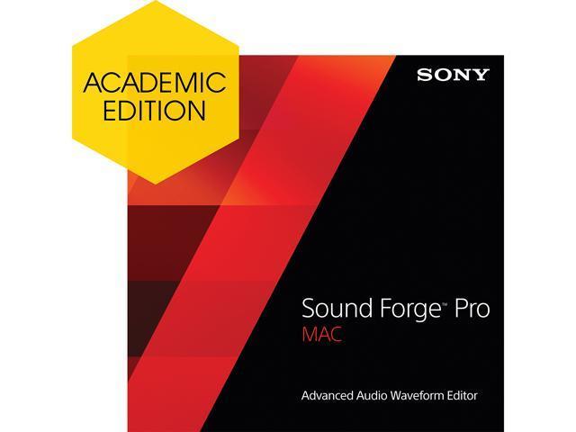 SONY Sound Forge Pro Mac 2 - Academic