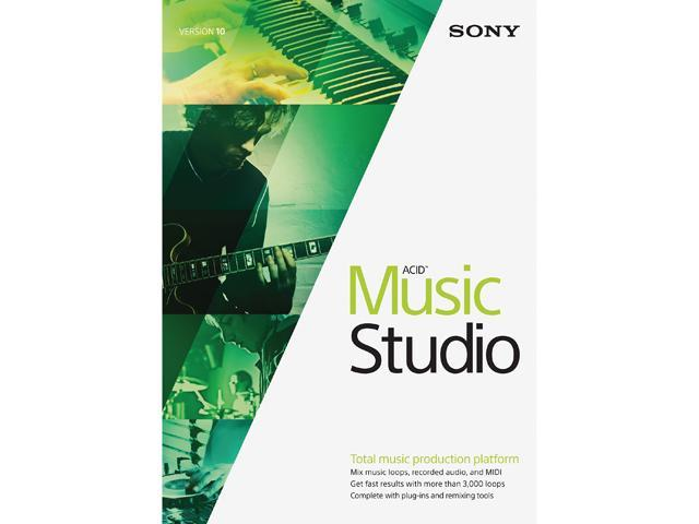 SONY ACID Music Studio 10 - Download (ATTACH ONLY)