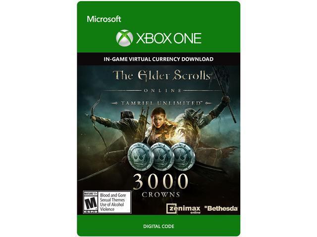 The Elder Scrolls Online Tamriel Unlimited Edition 3000 Crowns XBOX One [Digital Code]