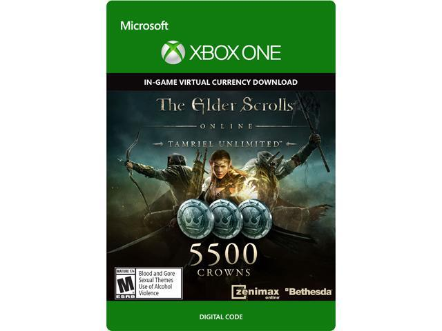 The Elder Scrolls Online Tamriel Unlimited Edition 5,500 Crowns XBOX One [Digital Code]