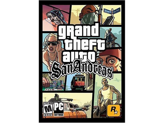 Grand Theft Auto: San Andreas [Online Game Code]