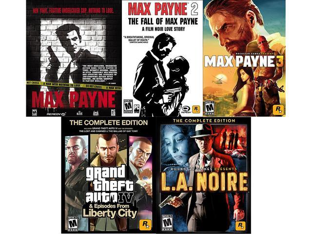 Rockstar Essentials Bundle (Max Payne Triple Pack, GTA IV Complete, LA Noire Complete) [Online Game Codes]