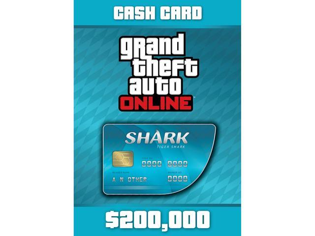 Grand Theft Auto Online: Tiger Shark Cash Card - XBOX 360 [XBOX Live Credit]