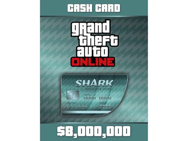 Grand Theft Auto Online: Megalodon Shark Cash Card [PC Digital Code] - Newegg.com