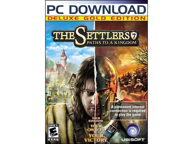 Settlers 7 Paths to a Kingdom: Deluxe Gold Edition [Online Game Code]