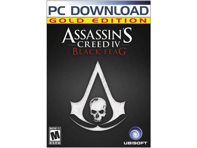 Assassin's Creed IV Black Flag Gold Edition (Includes Base Game + Season Pass) [Online Game Code]