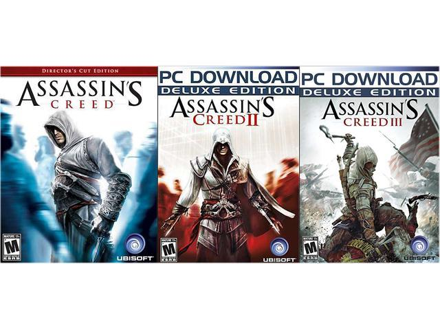 Assassin's Creed Triple Pack (1 + 2 + 3) [Online Game Codes]