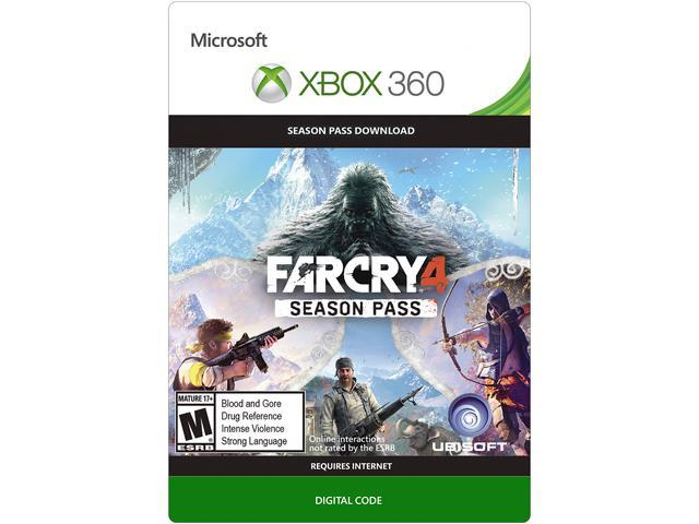 Far Cry 4 Season Pass XBOX 360 [Digital Code]