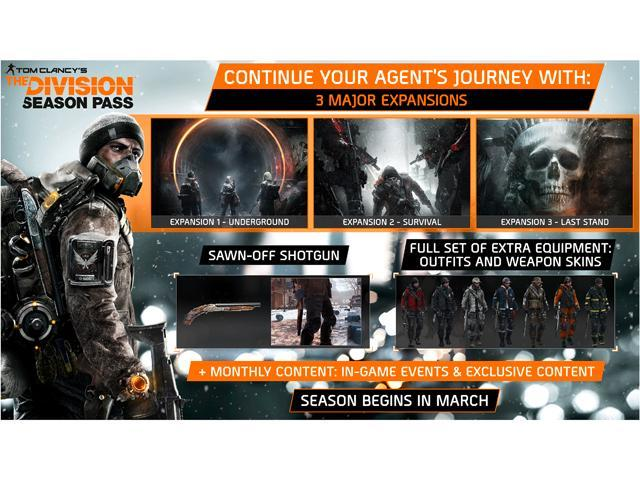 Tom Clancy's The Division Season Pass [Online Game Code]