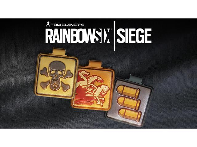 Tom Clancy's Rainbow Six Siege - Ops Icon Charms Bundle DLC [Online Game Code]