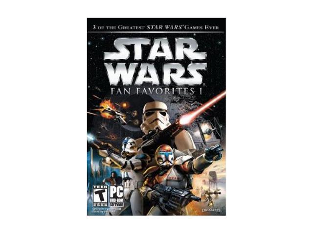 Star Wars Fan Favorites: Battlefront I & II, Republic Commando PC Game