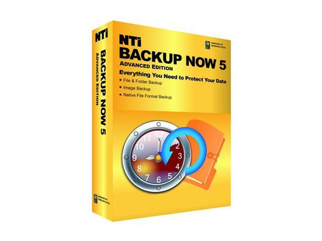 NTi Backup Now 5 Advanced