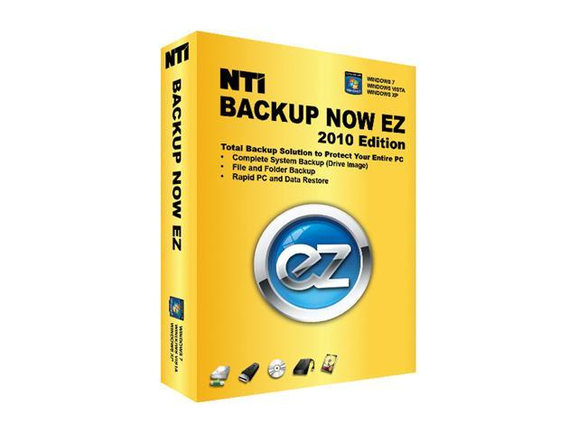 NTi Backup Now EZ 2010 Edition