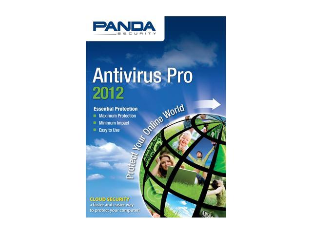Panda Security Antivirus Pro 2012 - 1 User
