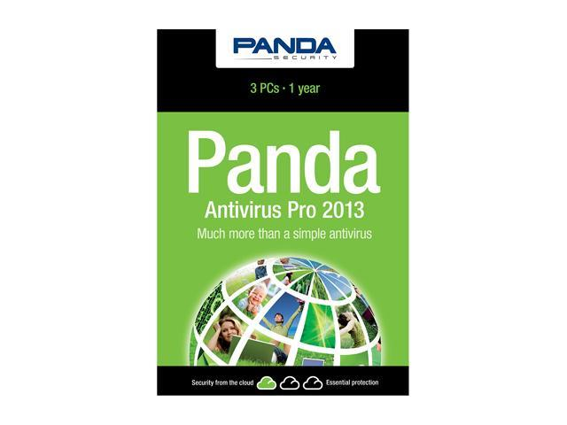 Panda Security Antivirus Pro 2013 - 3 PCs